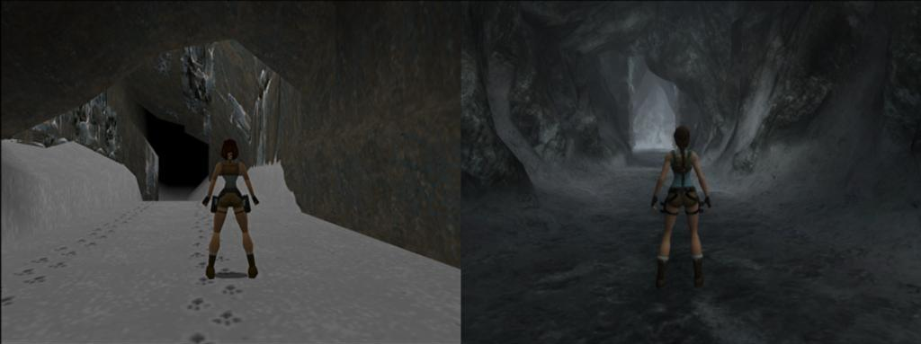 The Palace Of The Lost City >> Tomb Raider: Anniversary Comparison (to the original)
